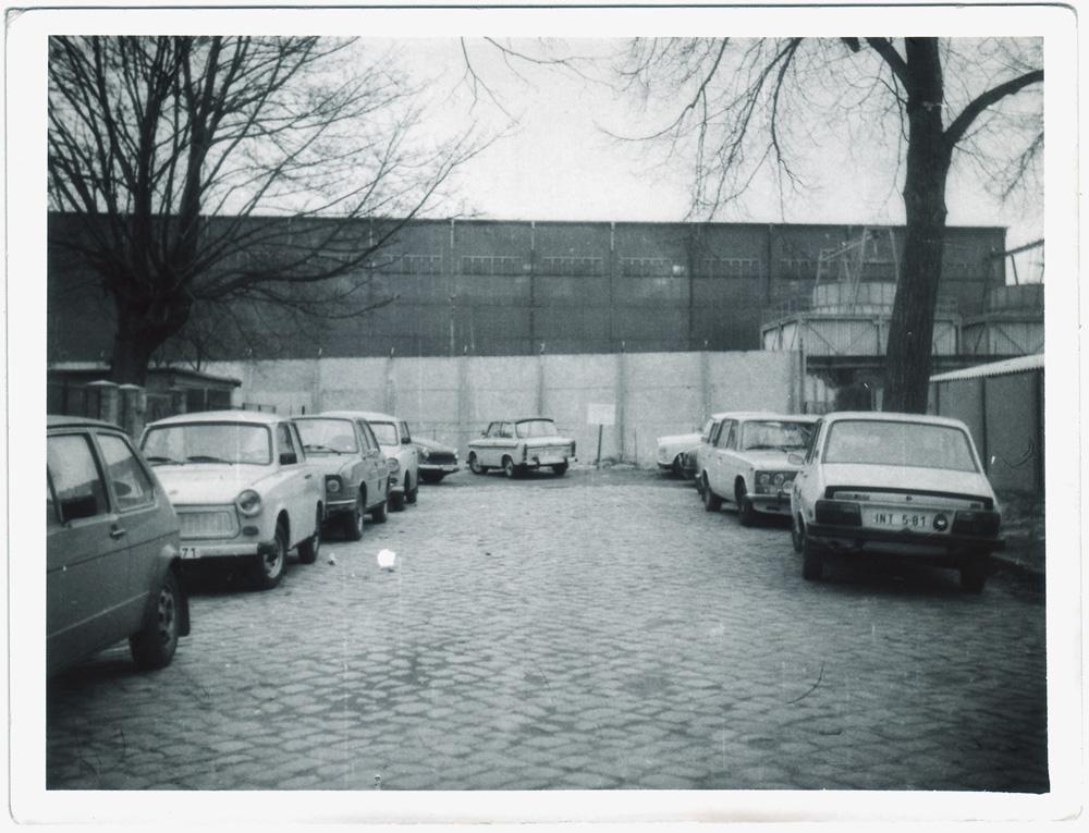 Schillerstraße, Berlin Pankow 1986, © Detlef Matthes